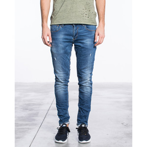 [지아니루포]Skinny Fit Scratches Vintage Wash S862 남성 데님