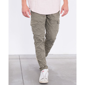 [지아니루포]Slim Fit Premium Washed J1809 카고팬츠(KH)